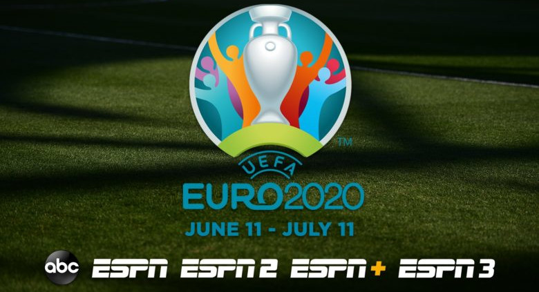 Euro 2020 is the latest event that will air on ESPN+ as well as ESPN's linear channels.