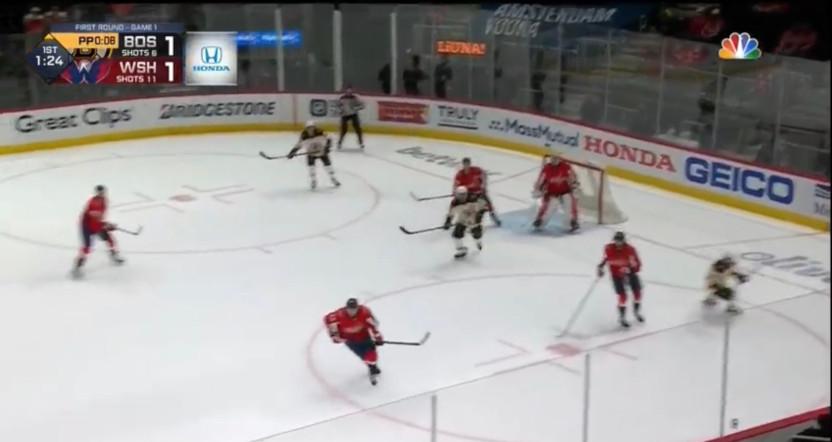 NBC's 2021 NHL scorebug.