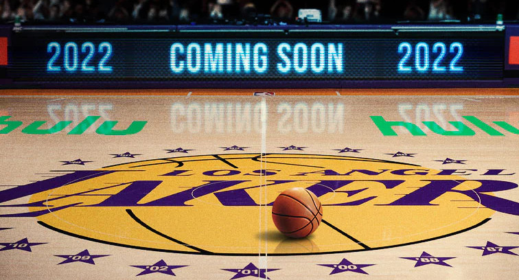 The Lakers' logo.
