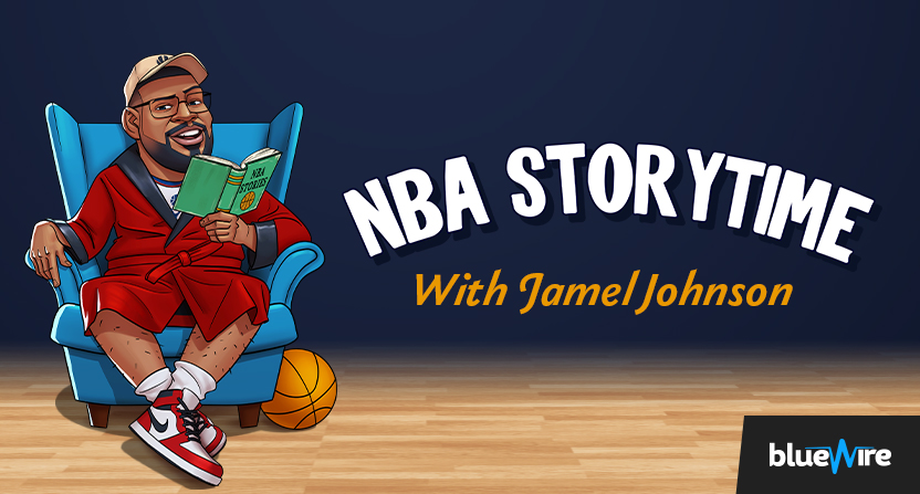 Blue Wire's NBA Storytime podcast.