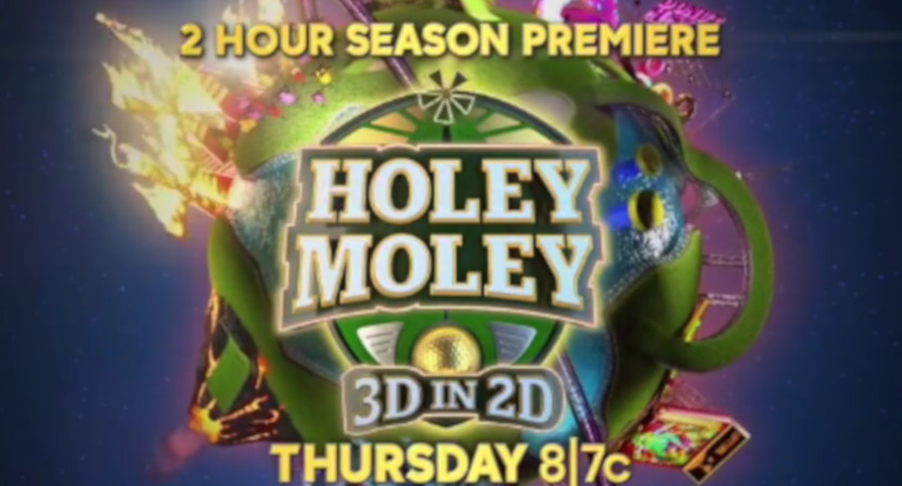 A graphic for Holey Moley 3.