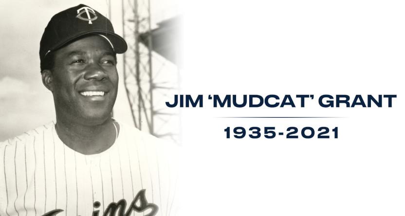 "The Twins' Jim ""Mudcat"" Grant tribute."