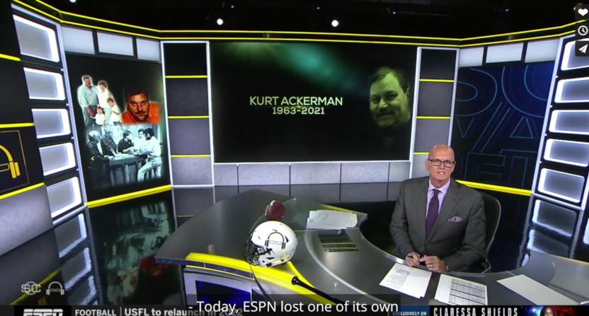 Scott Van Pelt's Kurt Ackerman tribute.