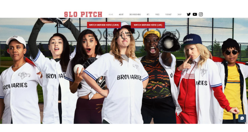 The Slo Pitch series, coming to IFC later this year.