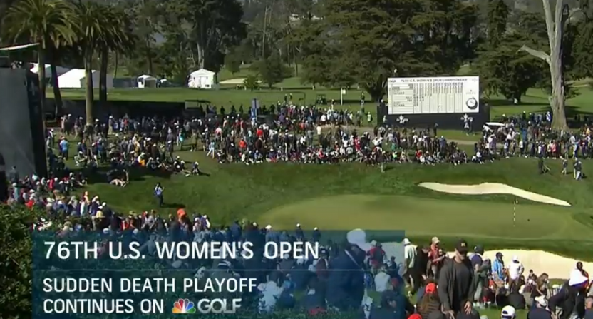 Nbc Dumps U S Women S Open Playoff To Golf Channel In Favor Of Gymnastics
