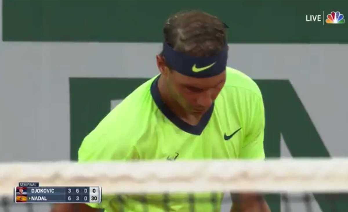 NBC booth gave viewers a bit too much detail about Rafael Nadal's hydration status