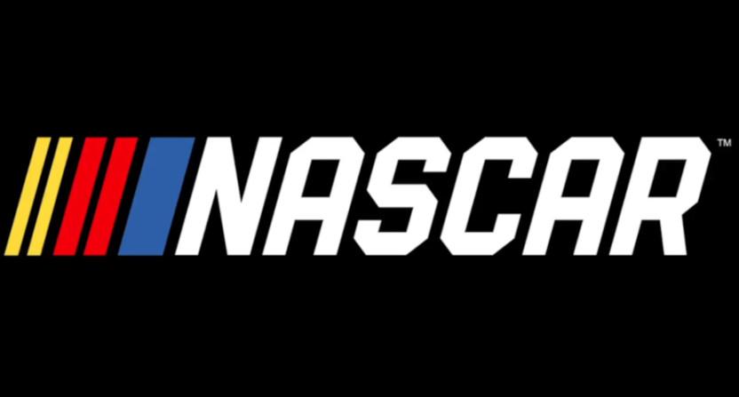 The NASCAR logo.