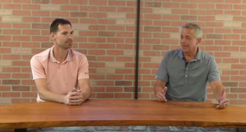 Thom Brennaman (right) on joining Chatterbox Sports.