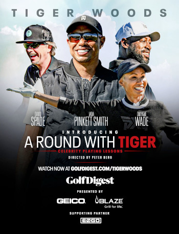 A Round with Tiger