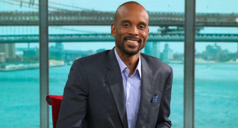 Bomani Jones at ESPN's New York studios.