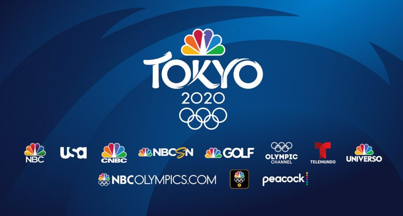 A NBCU graphic showing their Olympic networks.