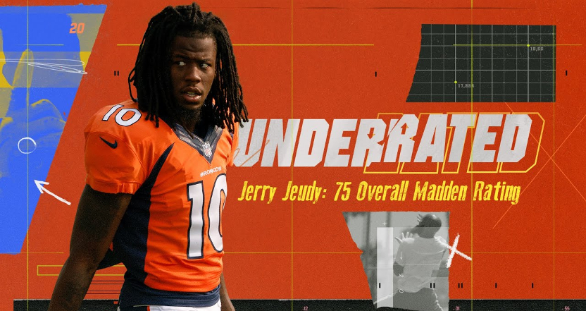 Broncos' WR Jerry Jeudy on Underrated.