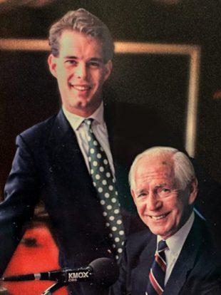 Joe Buck and Jack Buck.
