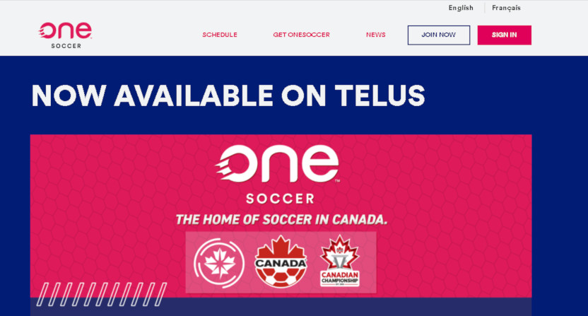 OneSoccer with Telus.