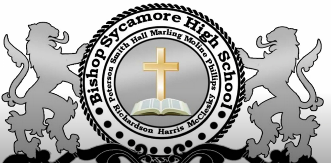 Bishop Sycamore logo on 10tv.