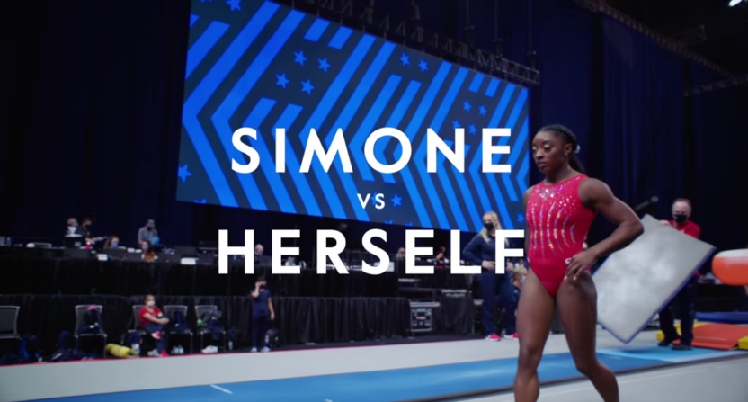 """""""It's getting to a point where it's becoming dangerous"""": Simone Biles talks Olympic twisties in Simone vs Herself finale trailer"""