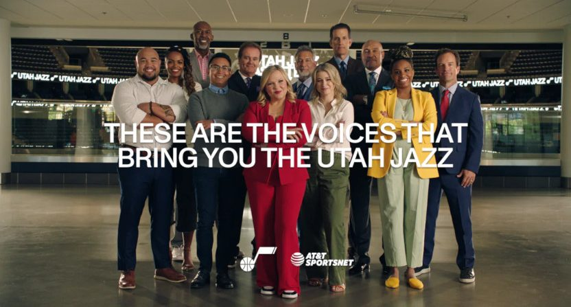 Holly Rowe joining the Jazz broadcast team.