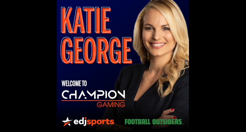 Katie George with Champion Gaming.